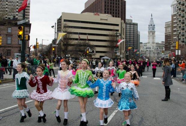 Photo by Denise Foley courtesy of the Philadelphia St. Patrick's Day Parade