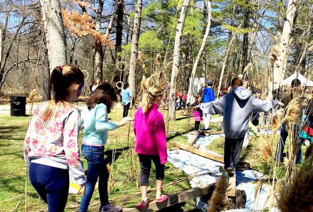 Nature program at Suffolk County Environmental Center. Photo courtesy of the Suffolk County Parks