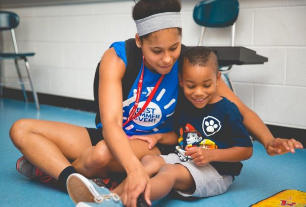 Keep your young one engaged at an area summer camp.