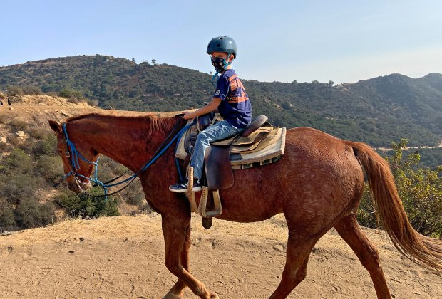 horseback rides are available at stables all over LA