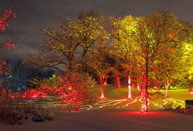 Drive Through Christmas Lights and Holiday Light Displays Near Chicago
