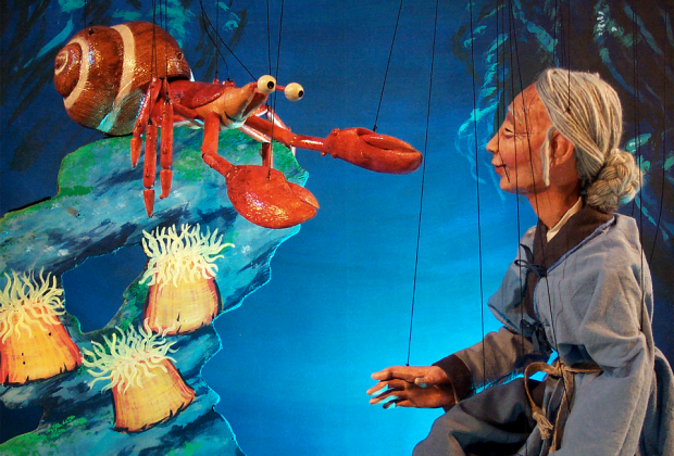 Image courtesy of the Tanglewood Marionettes