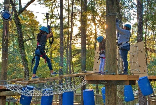 texas treeventures ziplining