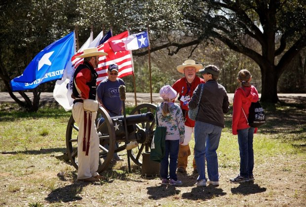 Celebrate Texas' independence with a full weekend of authentic historic performances, activities, dress, and more. Photo courtesy of Washington on the Brazos Historical Foundation.