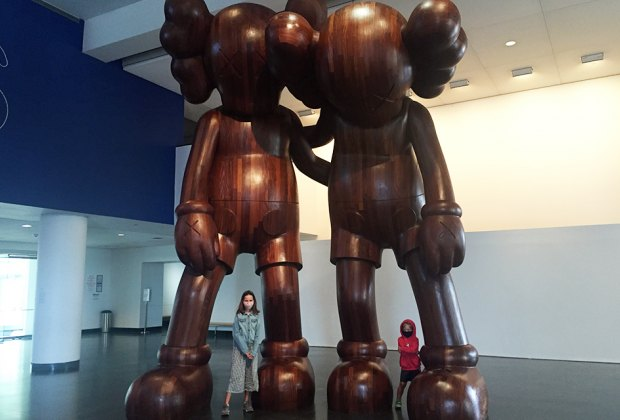 A new Kaws exhibit opens at the Brooklyn Museum for Midwinter Break