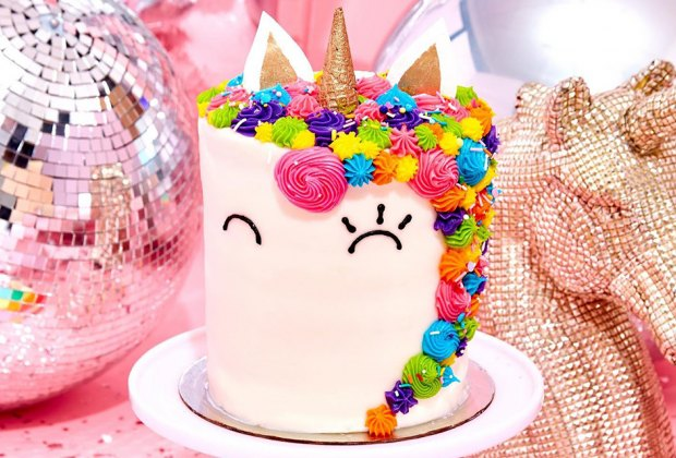 The Flour Shop unicorn birthday cake