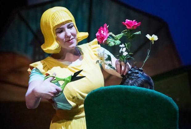 Treehouse Shakers presents The Boy Who Grew Flowers at Purchase College on Sunday, March 22. Photo courtesy of the theater