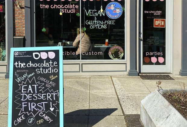 Get a chocolate fix at the Chocolate Studio.Things to do in Beacon with kids