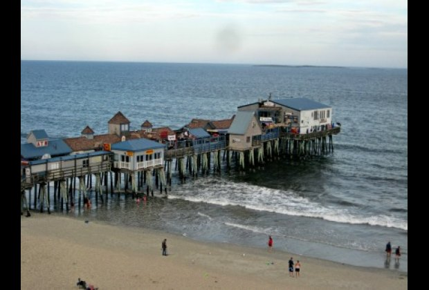 The Pier Has Been Entertainment Spot At Old Orchard Beach For Over 100 Years
