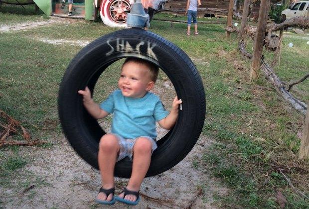 Swing at The Shack Burger Resort
