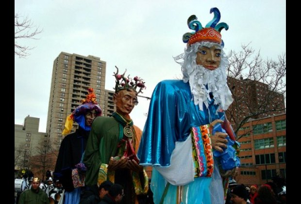 Three Kings Day Parade in East Harlem