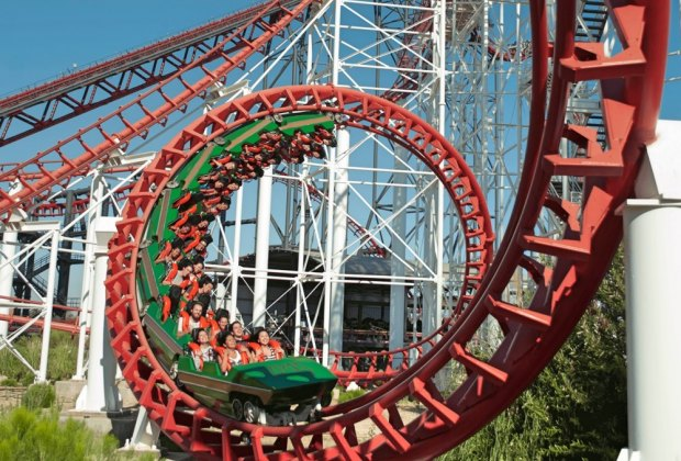 Have a Blast at Six Flags Magic Mountain with Kids of All Ages: Thrilling Rides