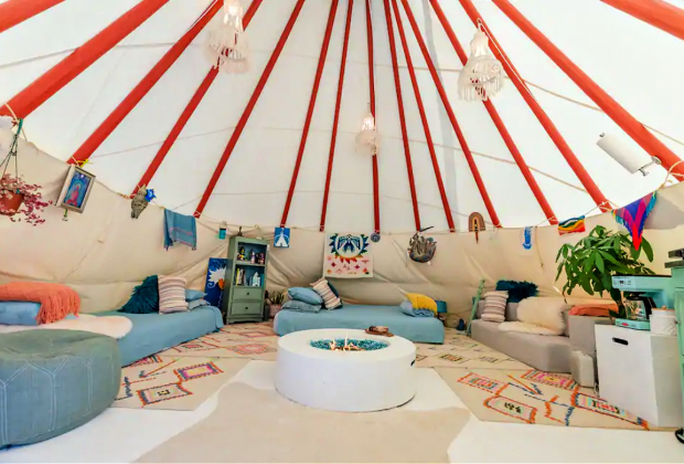 California Vacation Rentals for Families: Sleep in a tipi!