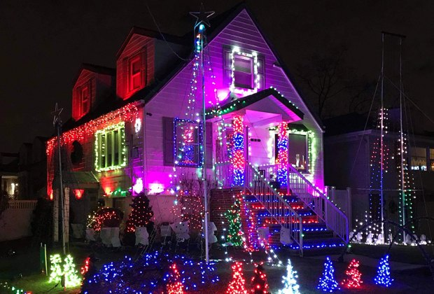Howard Beach residents are going all out with Christmas decorations this year