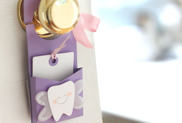Creative Tooth Fairy Ideas Kids Love: tiny note for the tooth fairy