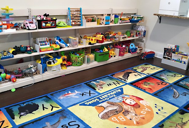 Toys and puzzles await at the Hoboken Public Library's Toybrary.