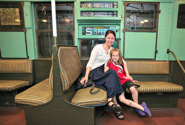 The Transit Museum's vintage fleet appeal to all ages. Photo courtesy the museum.