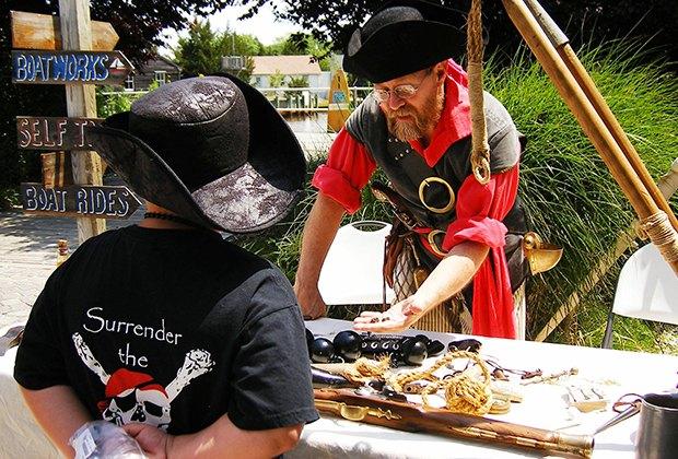 Meet a Pirate at Tuckerton Seaport