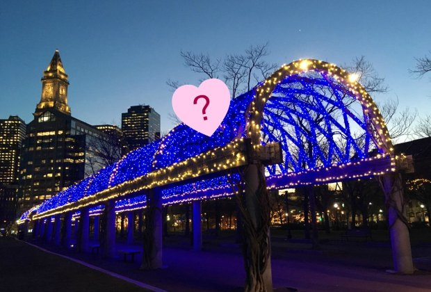 What will the new Tunnel of Love look like? Photo courtesy of Friends of Christopher Columbus Park, edited by Mommy Poppins