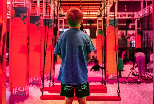 Now Open in Chicago for Kids Right Now: Trampoline Parks