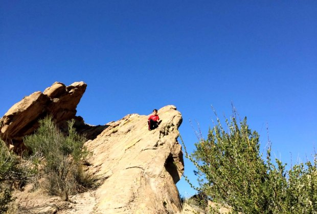 Hiking trails are now open in Los Angeles, including the Vasquez Rocks area