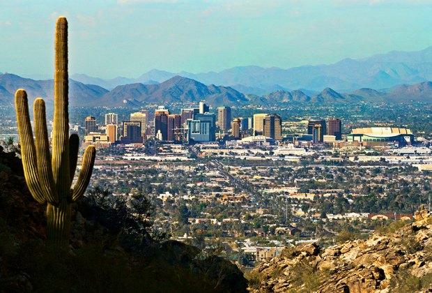 The skyline of Phoenix is breathtaking. Photo courtesy of Visit Phoenix