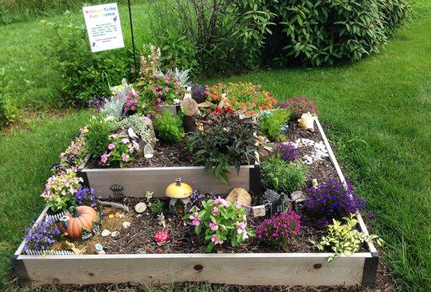 Wagner Farm Arboretum houses a fairy garden