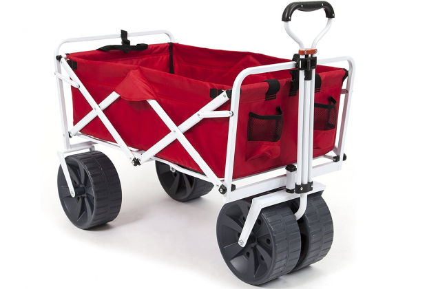 Best Beach Gear and Hacks for Families with Young Kids: Wagons and Carts