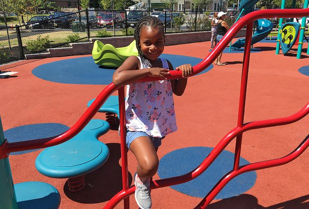 The new accessible playground at Watsessing Park is a dream-come-true for children of all abilities.