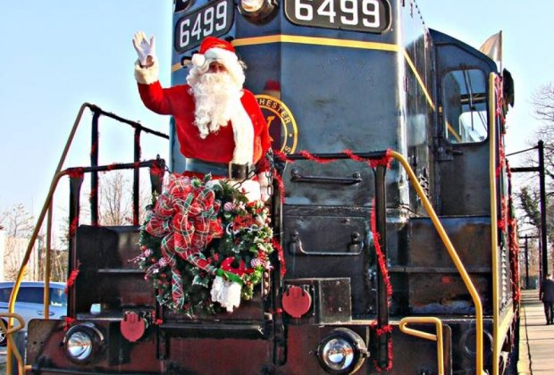 Polar Express Christmas Train Rides For Kids Near Philly