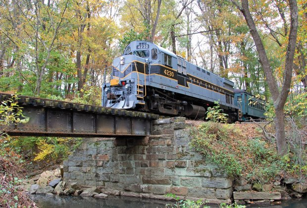 Take in fall foliage aboard the West Chester Express.