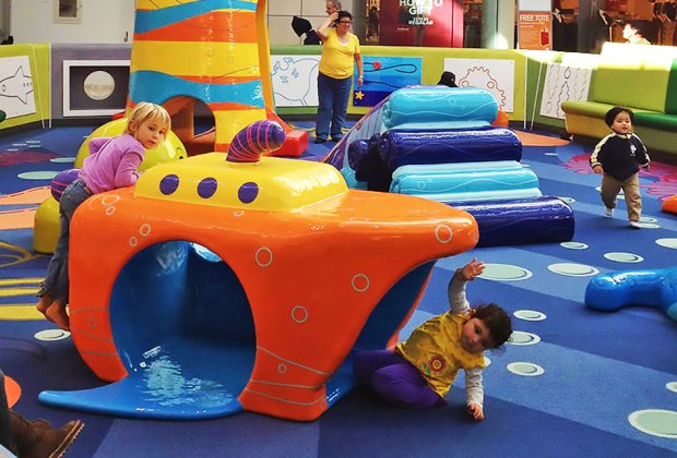 Westfield South Shore mall's family play space is an ideal pit stop when the kids need a break from shopping.