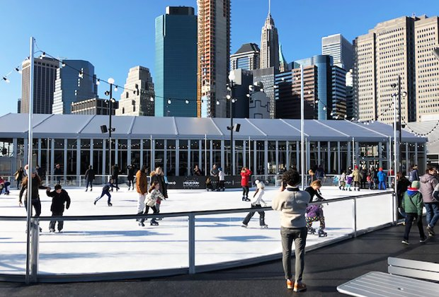 Hours For Southside Seaport Christmas Ice Rink 2020 New Outdoor Ice Skating Rink Opens at South Street Seaport