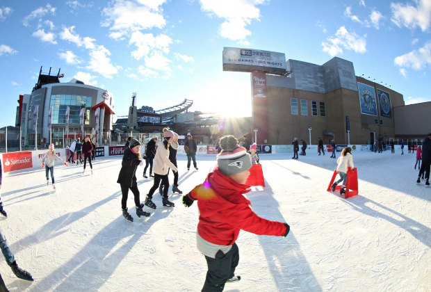 Photo courtesy of Winter Skate at Patriot Place