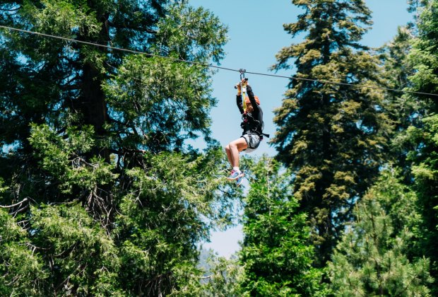 Best Things To Do with Kids in Lake Arrowhead: SkyPark at Santa's Village