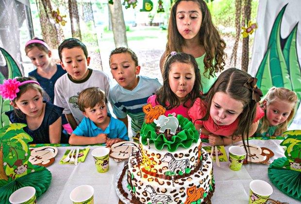 Birthday Party Farm Rental