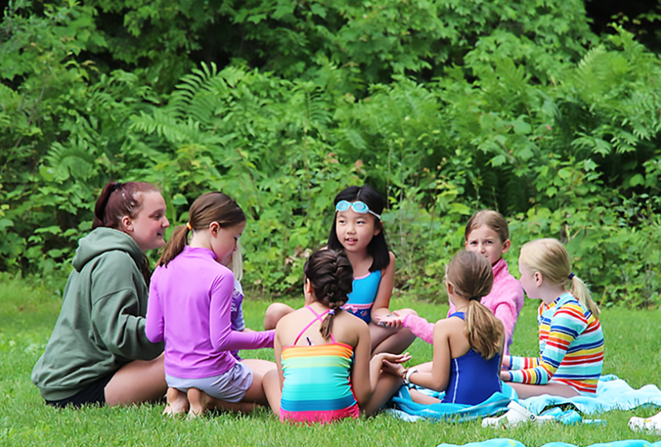 "Small camp ""families"" can help keep kids safe this summer. Photo courtesy of Camp Runoia"