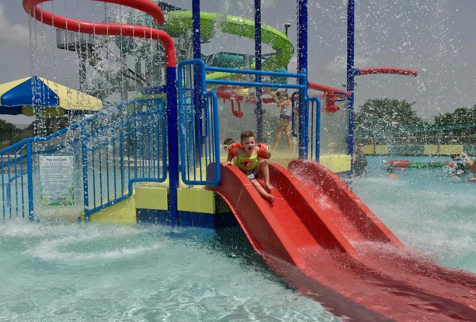 Slip, Slide, and Splash at Strawberry Water Park in Pasadena ...