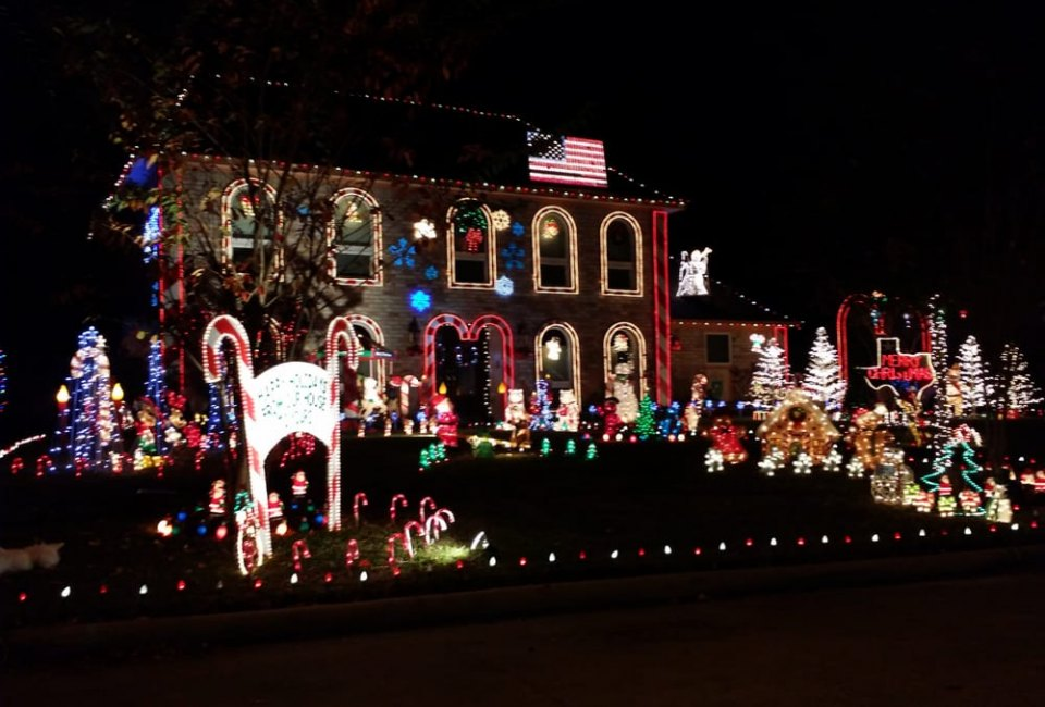 nite of lights - Prestonwood Forest Christmas Lights