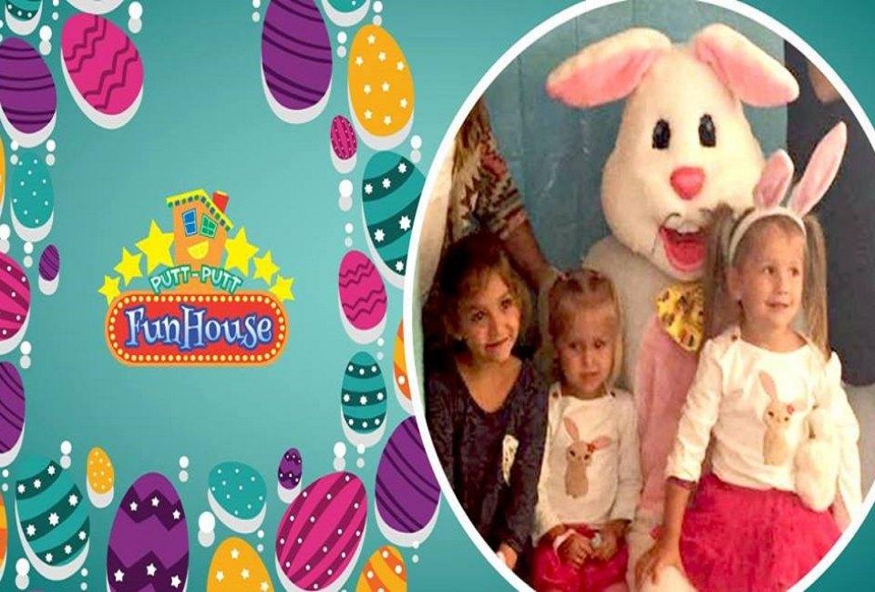 Easter Eggstravaganza At Putt Putt Fun House