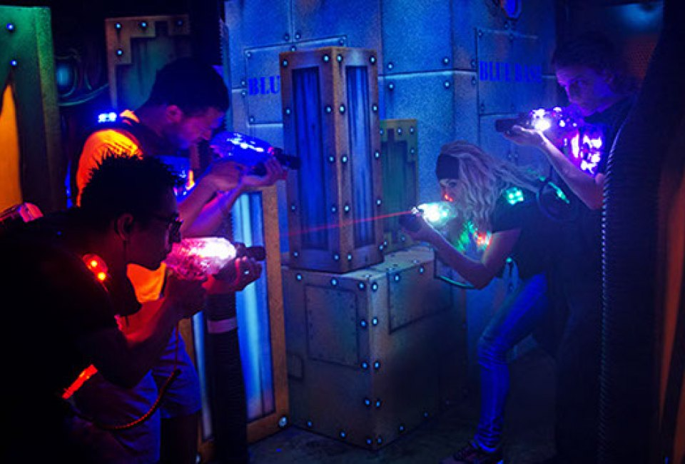 6 Must Try Laser Tag Arenas For Houston Kids