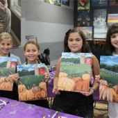 Things to do with kids: Learn to Paint Studios for Long Island Families