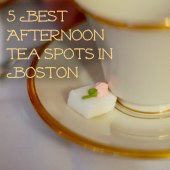 Things to do with kids: 5 Best Boston Afternoon Tea Spots for Families