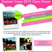 North Williamsburg Summer Camp 2015 Open House