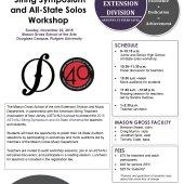 2015 ASTA/NJ String Symposium & All-State Workshop