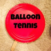 Things to do with kids: WeeWork Activities: Indoor Balloon Tennis