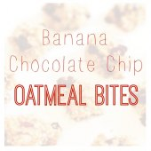 Things to do with kids: WeeWork Recipes: Banana Chocolate Chip Oatmeal Bites