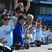 Things to do with kids: Bridgeport Bluefish Game: Family Baseball Outing