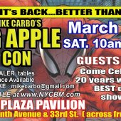 Big Apple Comic Covention