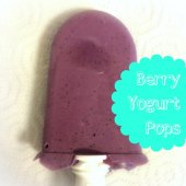 Things to do with kids: WeeWork Recipe: Blueberry Yogurt Pops